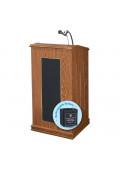 Oklahoma Sound Prestige Full Size Sound System Lectern, Battery