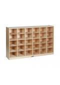 ECR4Kids 30 Cubbie Tray Classroom Storage Unit