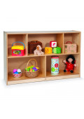 """Whitney Brothers 30"""" H 5-Section Classroom Storage Unit"""