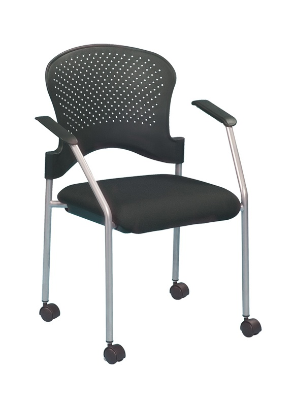 Eurotech Breeze FS8270 Low-Back Guest Chair With Casters