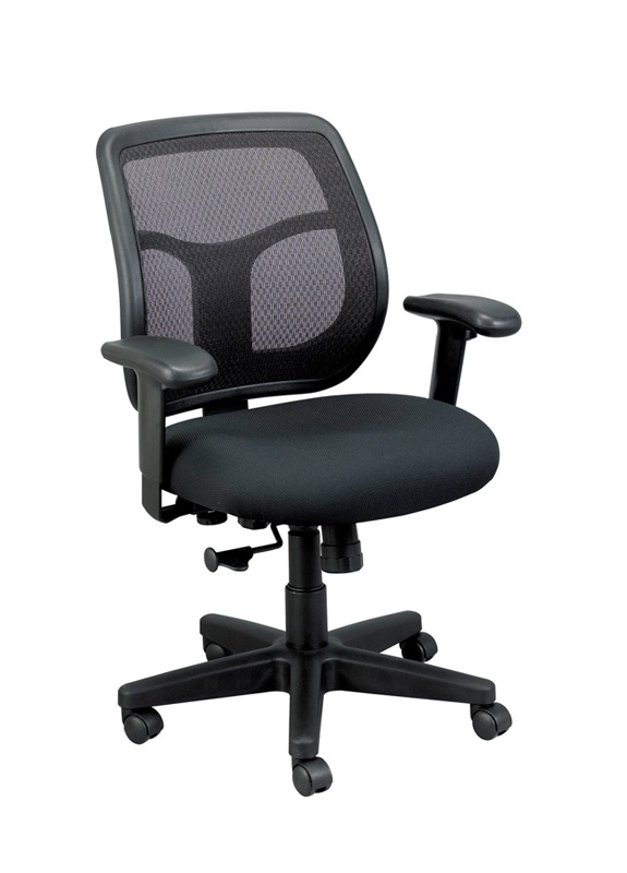 Eurotech Apollo MT9400 Mid-Back Mesh & Fabric Task Chair