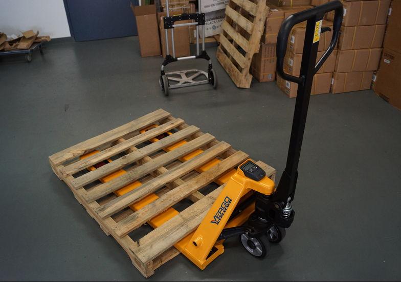 Vergo Industrial S4400le Scale Pallet Jack Setup Instructions