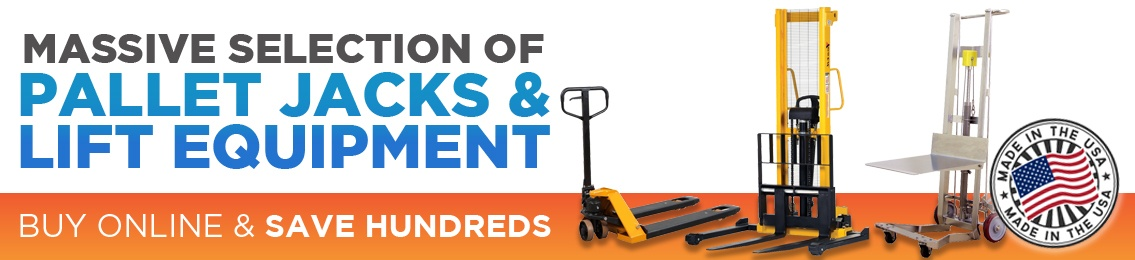 Pallet Jacks and Lift Equipment on Sale